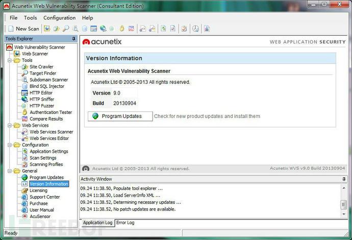 Acunetix Web Vulnerability Scanner 9.5破解版